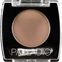 Palladio Brow Powder for Eyebrows, Taupe, Soft and Natural Eyebrow Powder with Jojoba Oil & Shea Butter, Helps Enhance & Define Brows, Compact Size for Purse or Travel, Includes Applicator Brush