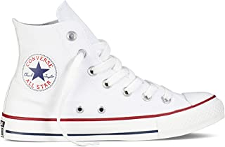 Converse Unisex Chuck Taylor All Star High Top Sneakers Optical White size 10 mens/12 womens