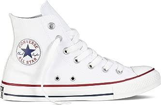 Converse Unisex Chuck Taylor All Star High Top Sneakers Optical White, 4 men/6 women