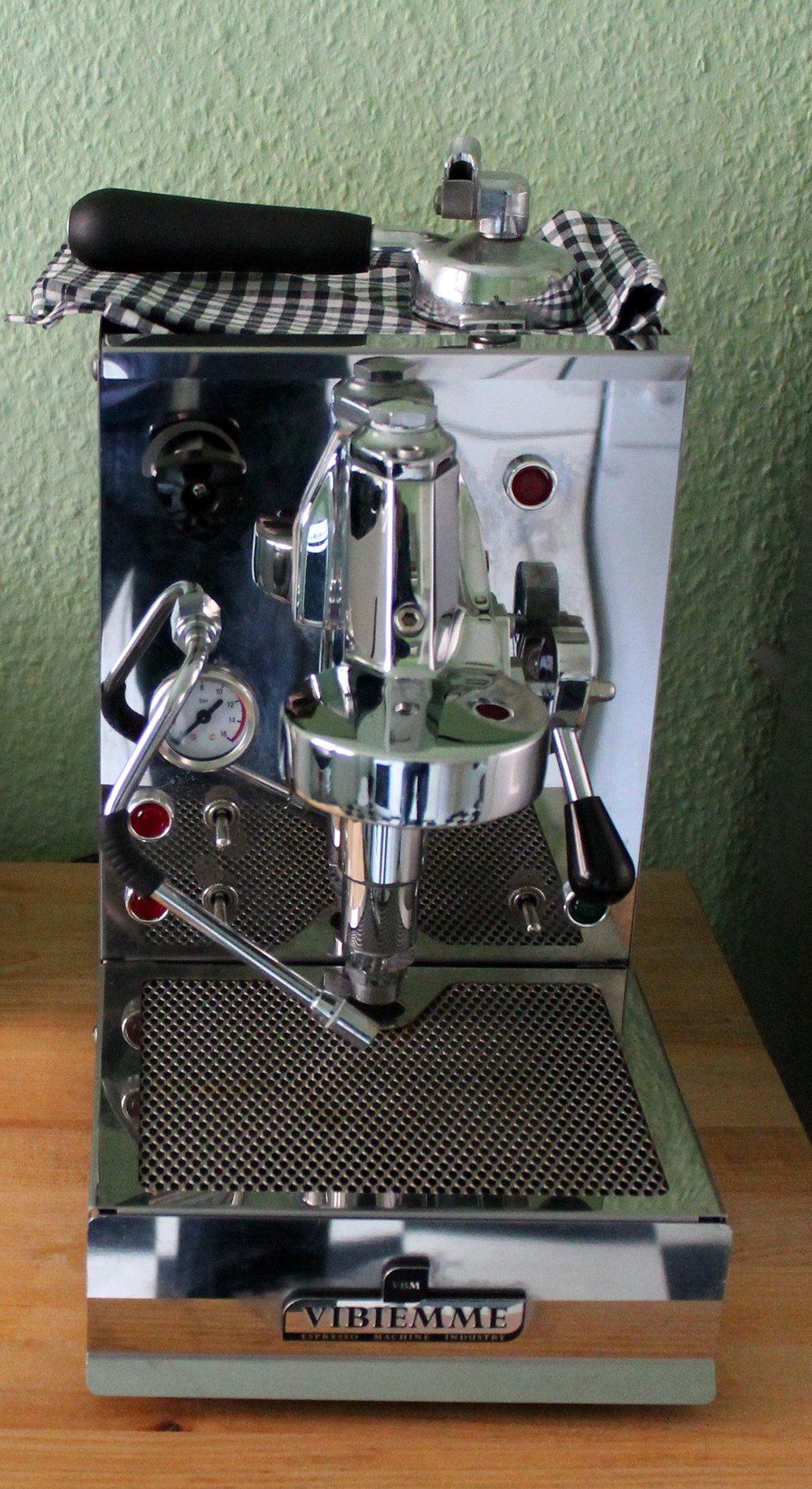 Vibiemme Domobar - Cafetera de espresso manual: Amazon.es: Hogar