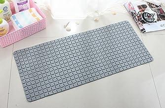 Bathlux Non Slip Suction Rubber Blocks Design Bath Door Mat Dark Grey, 13.39 x 2.99 x 2.36 cm