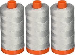 3-PACK - Aurifil A1050-2600 Mako Cotton Thread Solid 50WT 1422Yds Dove