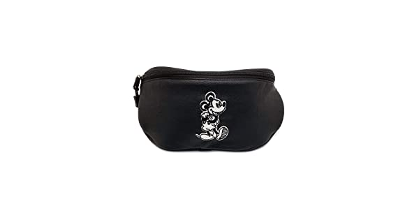 Loungefly x Disney Mickey Mouse Taupe Fanny Pack WDTB1470 Black, One Size