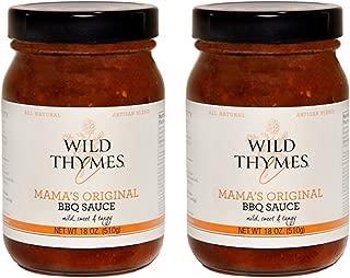 Best BBQ Wild Thymes BBQ Sauce (Original, 2 Pack)