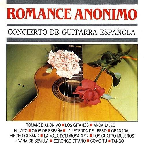 Romance Anonimo (Concierto de Guitarra Española) de Manuel Cubedo ...