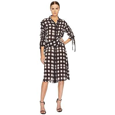 Preen by Thornton Bregazzi Uri Dress (Black/White Plaid) Women
