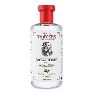 Thayers Alcohol-Free Coconut Water Witch Hazel Facial Toner with Aloe Vera Formula - 12 oz