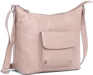 WILDHORN Leather Ladies Tote Bag   Shoulder Bag   Hand Bag   Sling Bag   Cross-body Bag with Adjustable Strap for Girls & ...