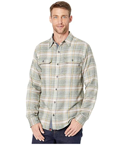 Marmot Jasper Midweight Flannel Long Sleeve Shirt (Rosin Green) Men