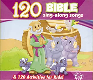 120 Bible Sing-Along Songs & 120 Activities for Kids