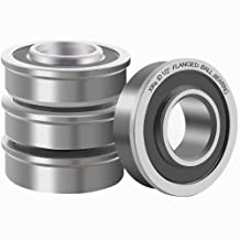 XiKe 4 Pack Flanged Ball Bearings 1/2