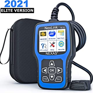 NEXAS NL101 کد خودرو Reader ابزار تشخیصی اتومبیل بررسی اسکنر کد چراغ موتور Obd2 موتور تستر باتری