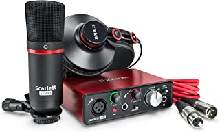 Focusrite Scarlett Solo 2nd Gen Studio Kit Audio Interface SOLOSTUDIO