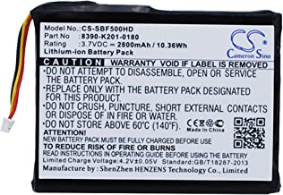 XPS Replacement Battery Compatible with SEAGATEGoFlex Satellite Mobile Wireless Storage STBF500101 GoFlex Satellite Mobile Wireless StorageSTBF500100 STBF500100 STBF500101