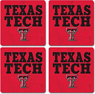 NCAA Legacy Texas Tech Red Raiders Table Top Square Wood One Size