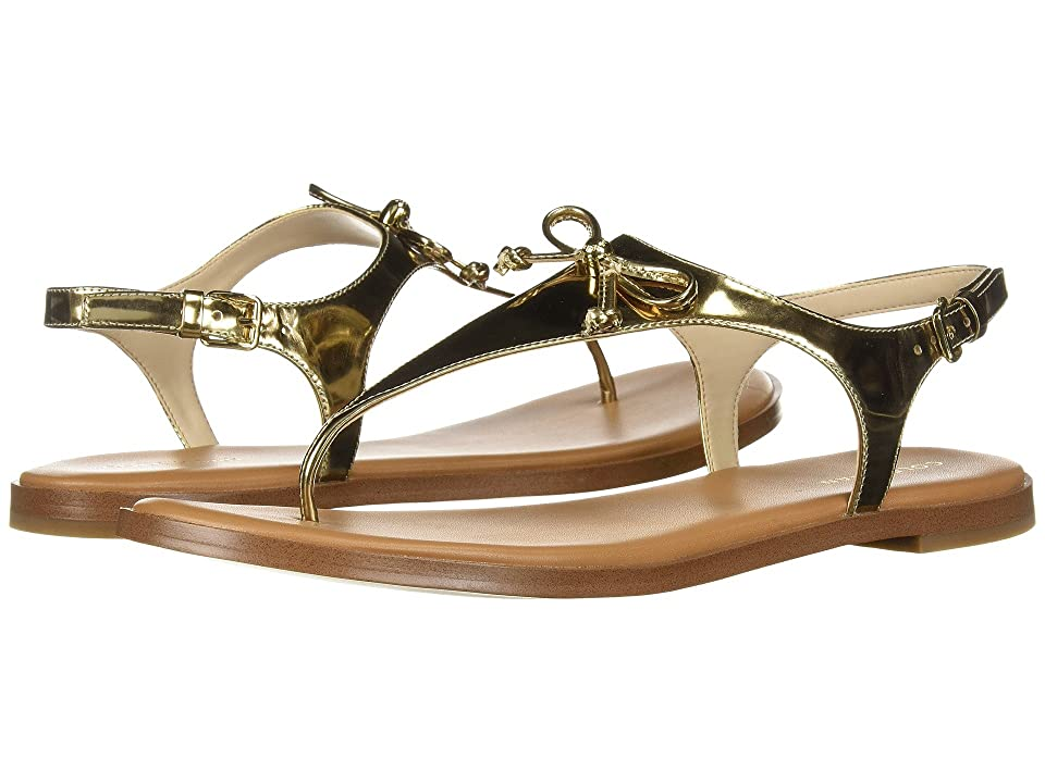 Cole Haan Findra Thong Sandal (Gold Specchio) Women