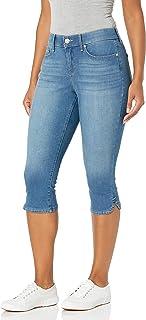 Women's Comfort Curvy Skinny Jean Capri Length