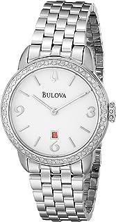 Bulova Women's 96R183 Analog Display Analog Quartz Silver Watch