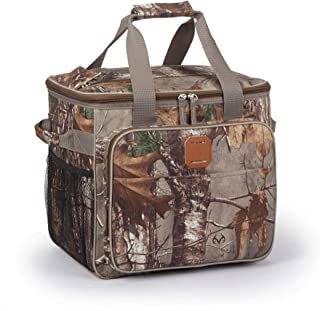 OUTBOUND Realtree Camo Soft Cooler for Hunting | Insulated 25 Can Cooler Bag for Camping, Fishing, Outdoor Activities and Work | Camo