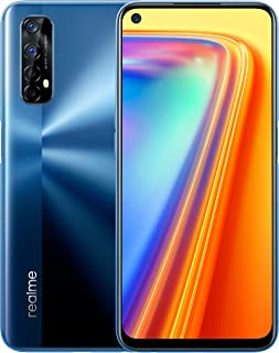 "realme 7 - Smartphone de 6.5"", 8GB RAM + 128GB ROM, Pantalla LCD FHD+, procesador Octa-Core Helio G95 Gaming, cuádruple cámara AI 48MP Sony + 16MP cámara Frontal. Dual SIM + 1 Micro SD. Azul Niebla"