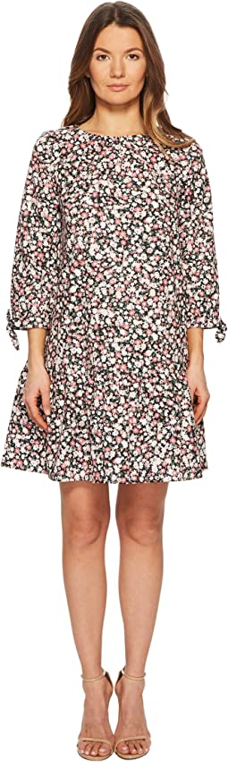 Wildflower Poplin Dress