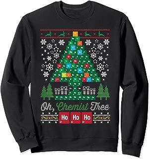Oh Chemist Tree Merry Christmas Ugly Sweatshirt Sweatshirt
