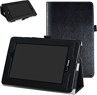 Verizon Ellipsis 7 4g LTE Case,Mama Mouth Slim Folio 2-Folding Stand Case Cover for 7