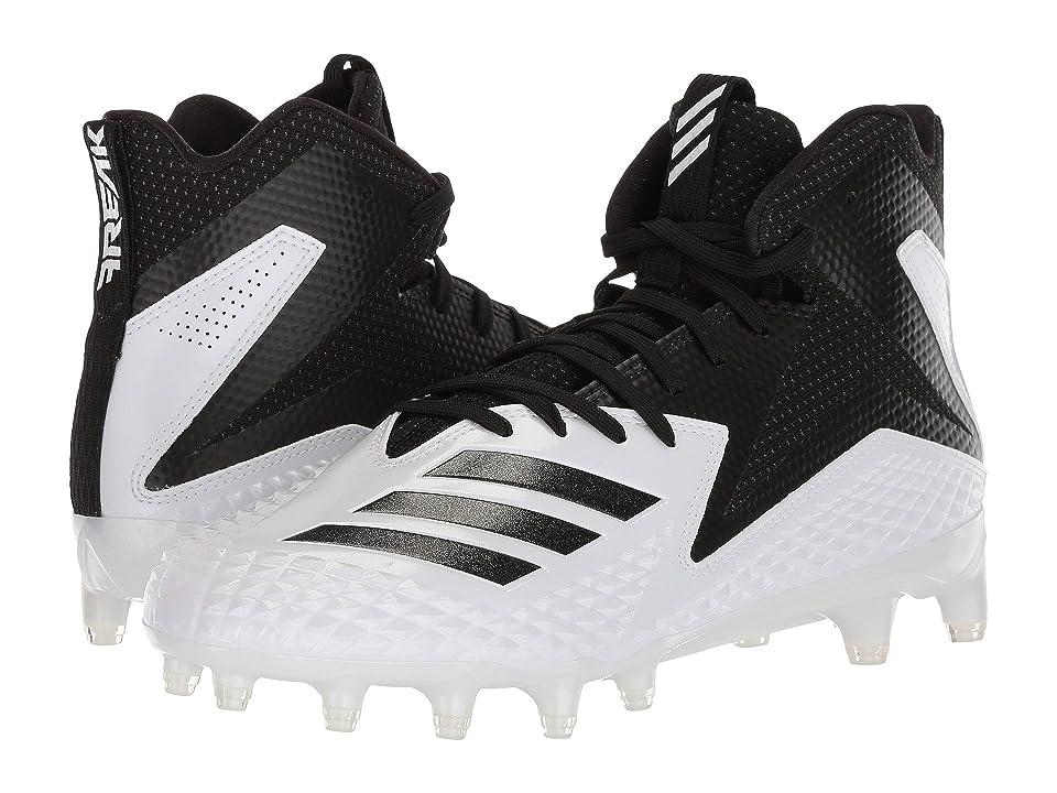 adidas Freak x Carbon Mid (Footwear White/Core Black/Core Black) Men