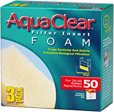Aquaclear Foam Inserts, 3-Pack (6-Pack, 50-Gallon)