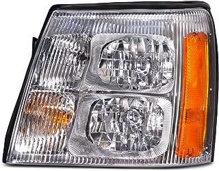HEADLIGHTSDEPOT Halogen Left Driver Headlight Compatible With Holiday Rambler Navigator 2008-2009 Motorhome RV