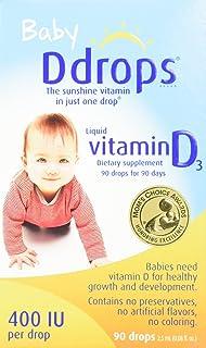 Ddrops Vit D Baby 400 Iu 90 Drop .08 Fz