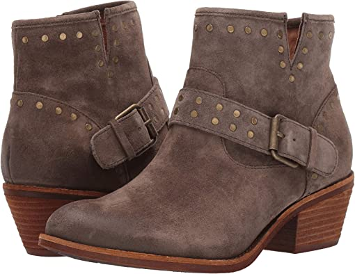 Dark Taupe Oiled Cow Suede