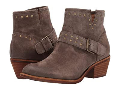 Sofft Allene (Dark Taupe Oiled Cow Suede) Women