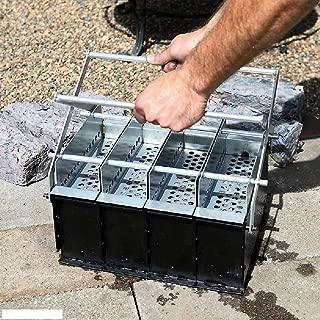 4 in 1 Paper Log Briquette Maker Newspaper Fireplace Recycle Log Maker