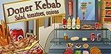 Doner Kebab : salad, tomato, onion