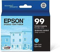 Epson Claria Hi-Definition 99 Standard-capacity Inkjet Cartridge Light Cyan T099520