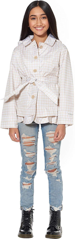 LONDON FOG Girls' Minneapolis Mall Li'l Lightweight Trench Jacket Dress store Coat
