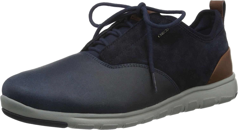 Geox Men's U Xunday 2fit a Low-Top Sneakers