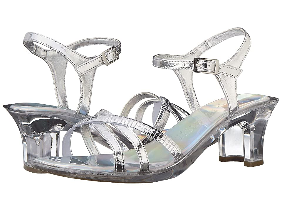 Kenneth Cole Reaction Kids Dan-cin Shoes (Little Kid/Big Kid) (Silver Metallic) Girls Shoes