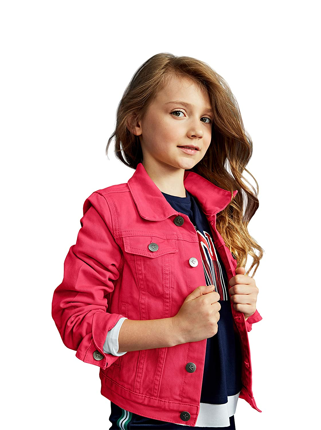 Cute Colored Denim Jackets KIDPIK Girls Jean Jacket