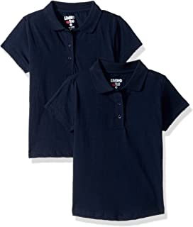 Limited Too Girls' 2 Pack Polo Shirt (More Styles Available)