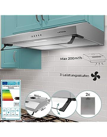 Amazon.es: Hornos y placas de cocina: Grandes electrodomésticos: Campanas extractoras, Placas, Cocinas y mucho más