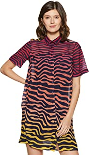 United Colors of Benetton Synthetic Shirt Dress
