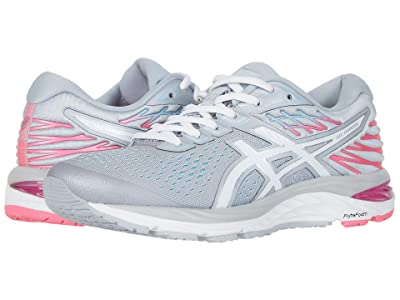 ASICS GEL-Cumulus(r) 21 (Piedmont Grey/White) Women