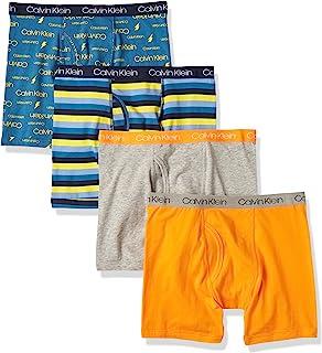 Boys Underwear 4 Pack Boxer Briefs Value Pack