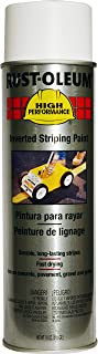 Rust-Oleum 2391838 High Performance 2300 System Inverted Stripe Paint Spray, 18-Ounce, White