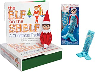 The Elf on the Shelf: A Christmas Tradition - Girl Light with Claus Couture Merry Merry Mermaid