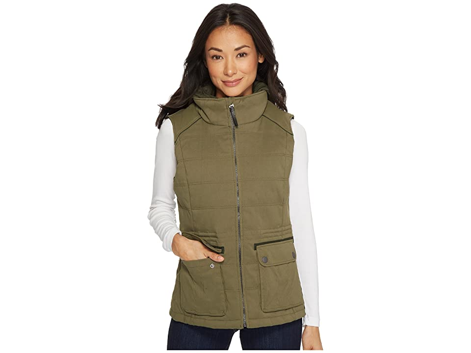 Prana Halle Insulated Vest (Cargo Green) Women