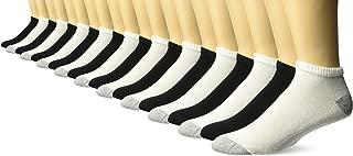 Gildan Men's Low Cut Socks, 10 Pairs