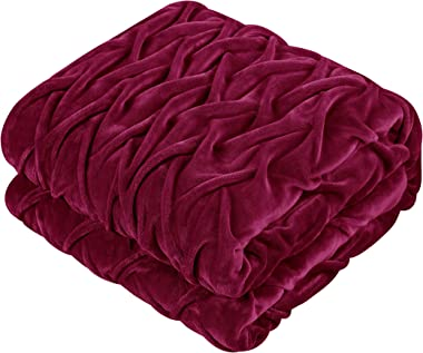 Chic Home Naama Comforter, Queen, Red